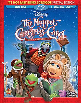 Cover image for The Muppet Christmas carol [videorecording (BLU-RAY)]