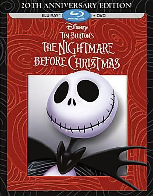 Cover image for Tim Burton's The nightmare before Christmas [videorecording (BLU-RAY)]