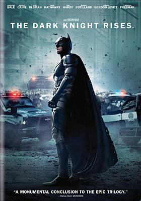 Cover image for The dark knight rises [videorecording (DVD)]