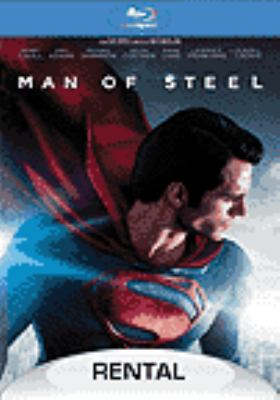 Cover image for Man of steel [videorecording (BLURAY)]