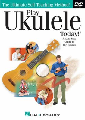 Cover image for Play ukulele today! [videorecording (DVD)]