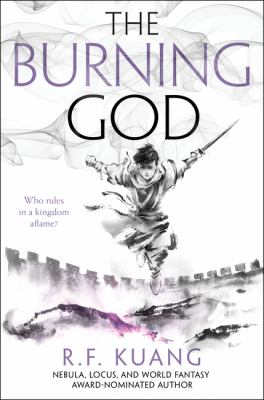 Cover image for The Burning God