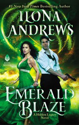 Cover image for Emerald Blaze: A Hidden Legacy Novel
