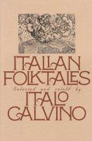 Cover image for Italian folktales