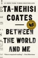 Cover image for Between the world and me