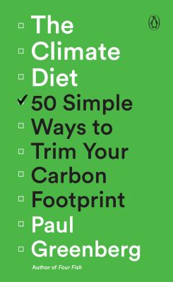 cover of The Climate Diet by Paul Greenberg