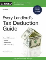 Cover image for Every landlord's tax deduction guide