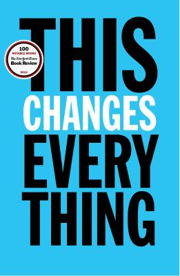 cover of This Changes Everything by Naomi Klein