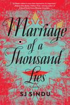 cover of Marriage of a Thousand Lies by SJ Sindu