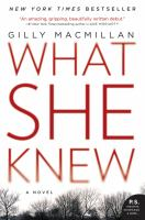 Cover image for What she knew