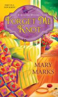 Cover image for Forget me knot