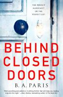 Cover image for Behind closed doors