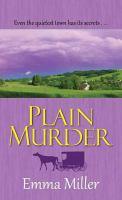 Cover image for Plain murder