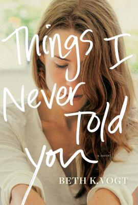 Things I never told you - Cover