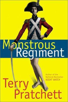 Cover image for Monstrous regiment : a novel of Discworld