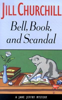Cover image for Bell, book, and scandal : a Jane Jeffry mystery