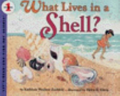 Cover image for What lives in a shell?