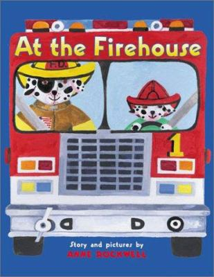 Cover image for At the firehouse!