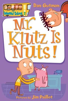 Cover image for Mr. Klutz is nuts!