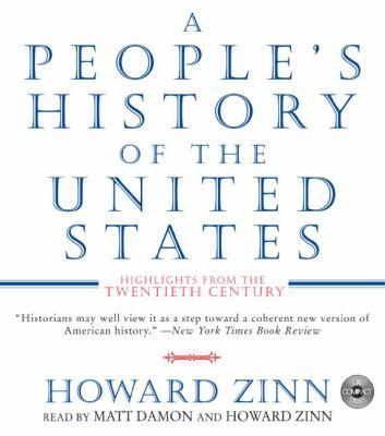 Cover image for A people's history of the United States [highlights from the twentieth century]