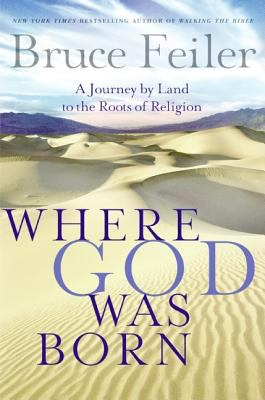 Cover image for Where God was born : a journey by land to the roots of religion