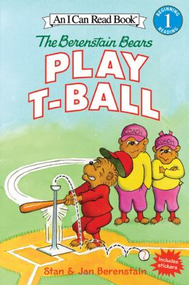 Cover image for The Berenstain Bears play t-ball