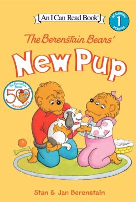 Cover image for The Berenstain Bears' new pup