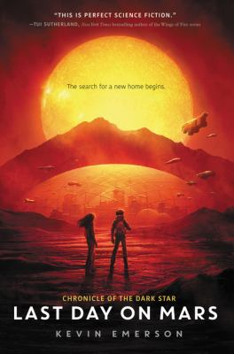 Cover image for Last day on Mars