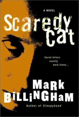 Cover image for Scaredy cat