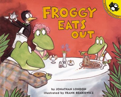 Cover image for Froggy eats out