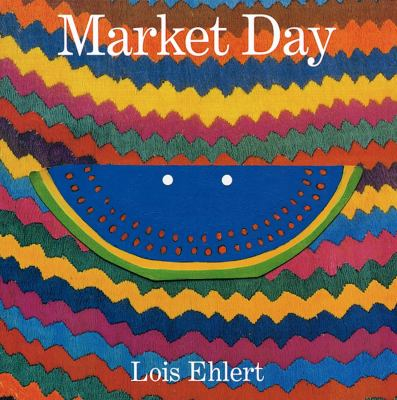 Cover image for Market day : a story told with folk art