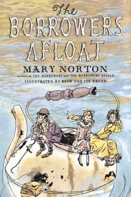 Cover image for The Borrowers afloat