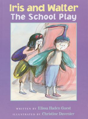 Cover image for Iris and Walter : the school play