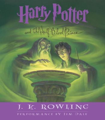 Cover image for Harry Potter and the half-blood prince