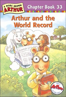 Cover image for Arthur and the world record