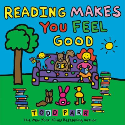 Cover image for Reading makes you feel good