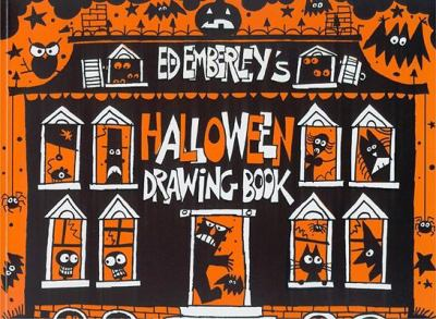 Cover image for Ed Emberley's Halloween drawing book.