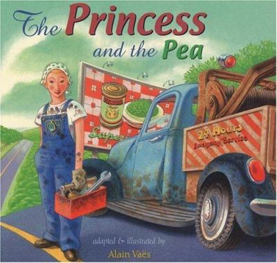 Cover image for The princess and the pea