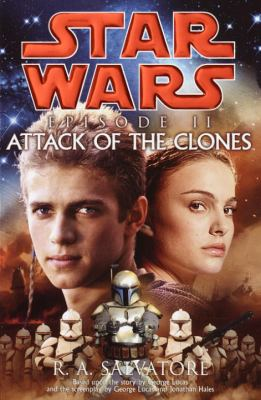 Cover image for Star Wars episode II : attack of the clones