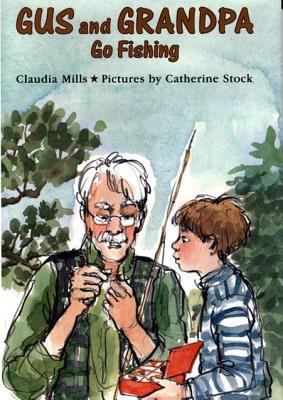 Cover image for Gus and Grandpa go fishing