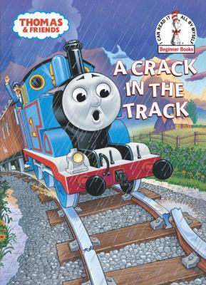 Cover image for A crack in the track : a Thomas the Tank Engine story