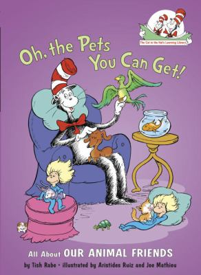 Cover image for Oh the pets you can get!