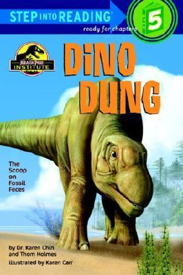 Cover image for Dino dung : the scoop on fossil feces