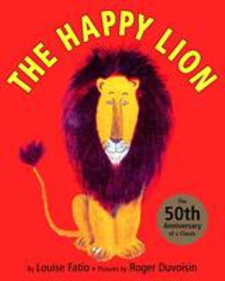 Cover image for The happy lion