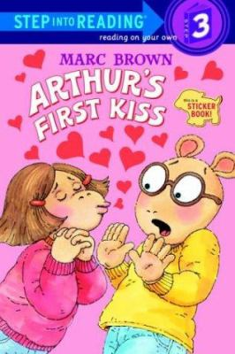 Cover image for Arthur's first kiss