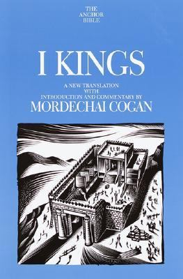 Cover image for 1 Kings : a new translation with introduction and commentary