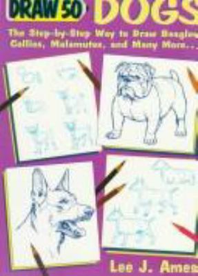 Cover image for Draw 50 dogs
