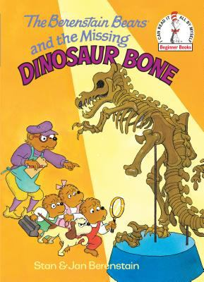 Cover image for The Berenstain Bears and the missing dinosaur bone