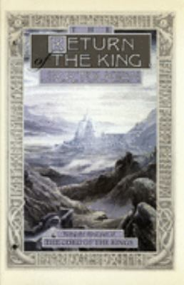 Cover image for The return of the king : being the third part of The lord of the rings