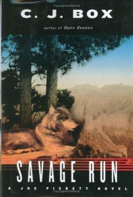 Cover image for Savage run